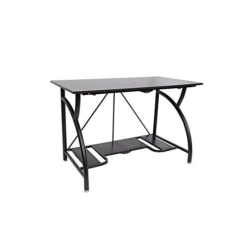 Origami Multi-Purpose fodable Steel frame Table,Sturdy Heavy Duty PC Computer Desk, Fully Assembled...