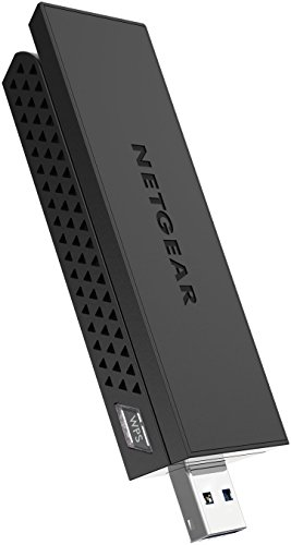NETGEAR AC1200 Wi-Fi USB Adapter High Gain Dual Band USB 3.0 (A6210-100PAS)