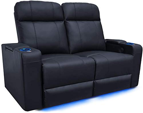 Valencia Piacenza Gaming Loveseat w/LED Lighting