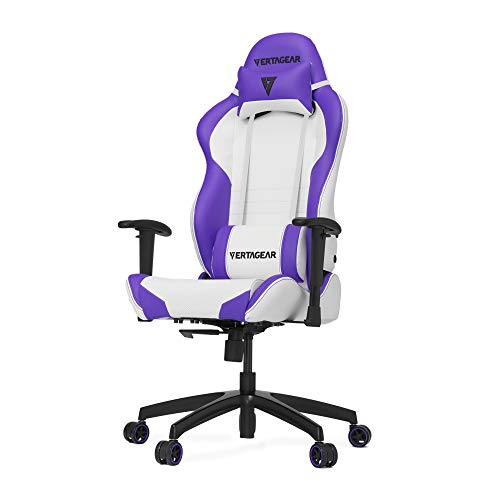 Vertagear S-Line 2000 White and Purple Gaming Chair