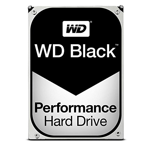 WD Black 6TB Performance Desktop Hard Disk Drive - 7200 RPM SATA 6 Gb/s 128MB Cache 3.5 Inch  -...