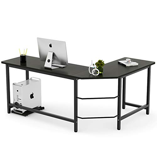 Tribesigns Modern L-Shaped Desk Corner Computer Desk PC Laptop Study Table Workstation Home Office...