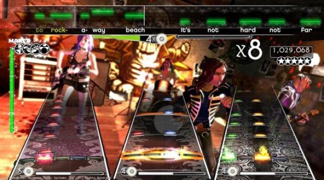Rock Band 2 Gmaeplay