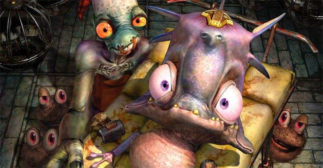 That VideoGame Blog » Oddworld's Abe gets Twitter, promises a ...