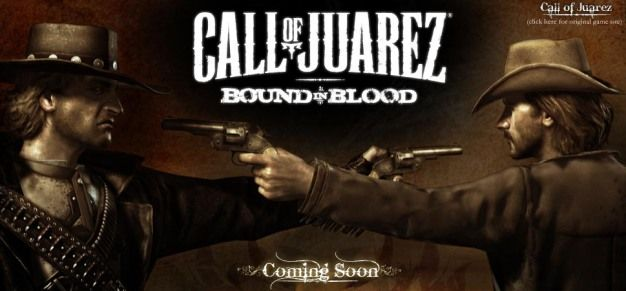 That VideoGame Blog » New Call of Juarez bounds you in blood