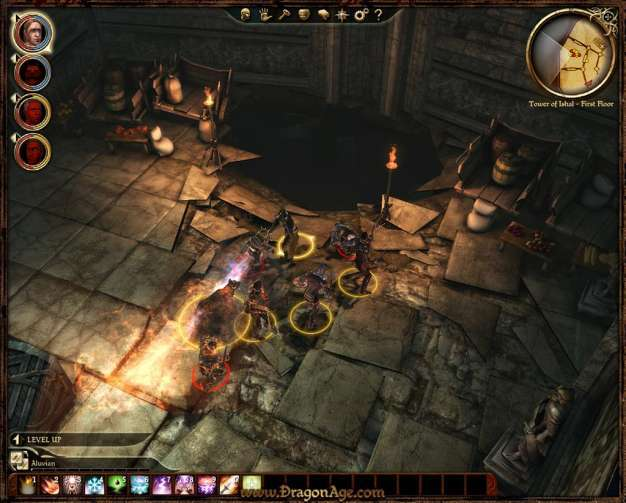 dragon age origins arcane warrior build
