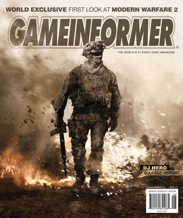 call of duty modern warfare 2 cover. COD Modern Warfare 2 cover