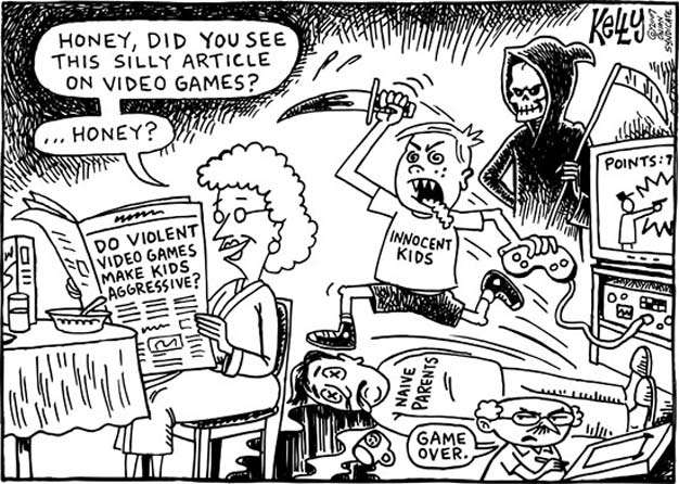 video game violence speech