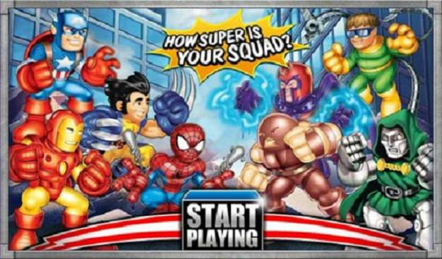 Marvel Super Hero Squad detailed and cuteyfied