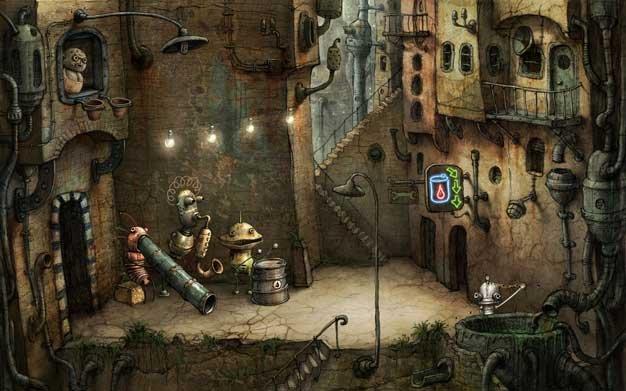 আপনি কি puzzle গেমস খেলতে পছন্দ করেন? আপনার জন্যই অপেক্ষা করছে সম্পূর্ণ ব্যতিক্রমধর্মী একটি Flash Puzzle Game:: Machinarium ;; ছোট বড় যে কেউ একবার না খেল্লে মিস করবেন