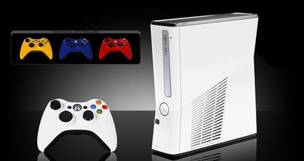 Amazoncom Xbox 360 S White  4GB Video Games