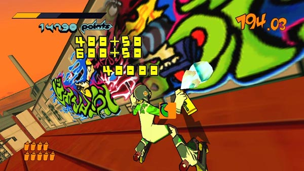 Jet Set Radio HD Vita