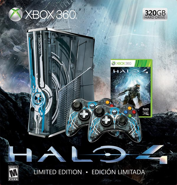 Halo 4 Limited Edition console bundle