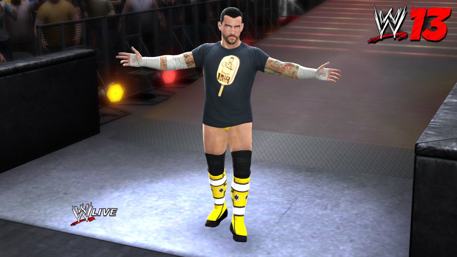 7324CM Punk Entrance
