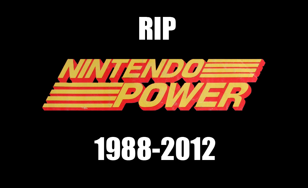 R.I.P Nintendo Power