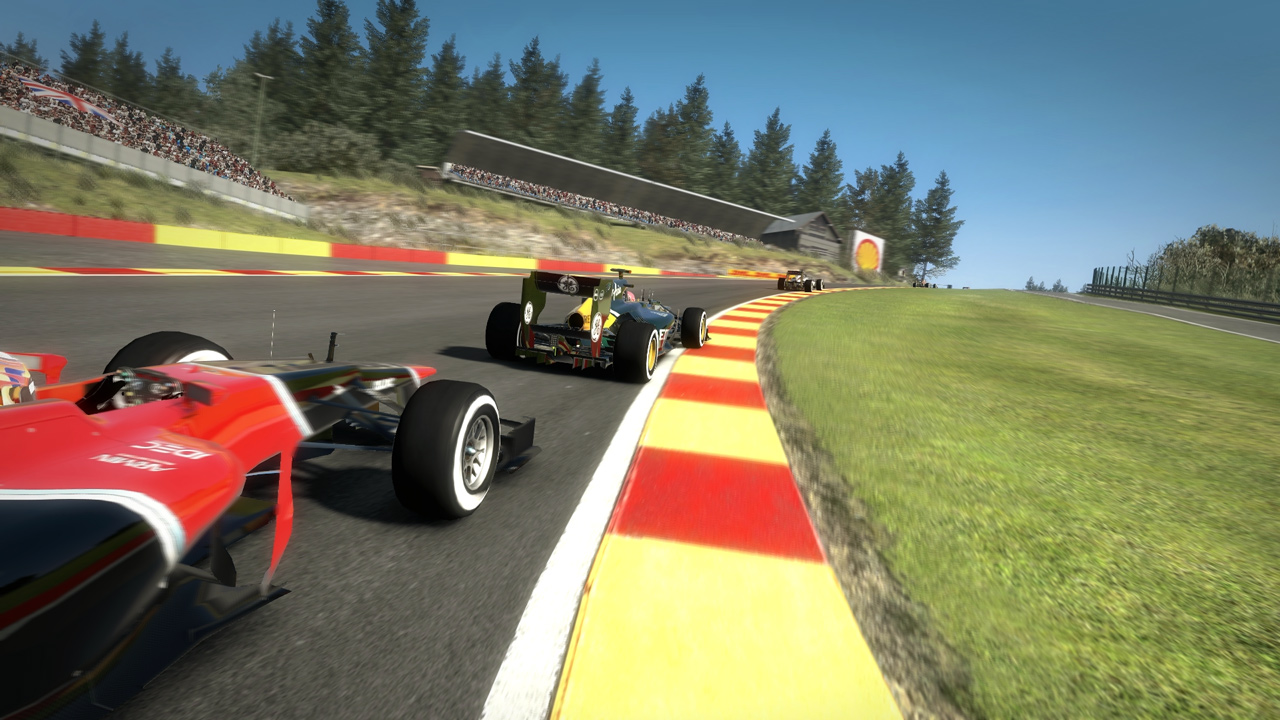 Racing Through Spa