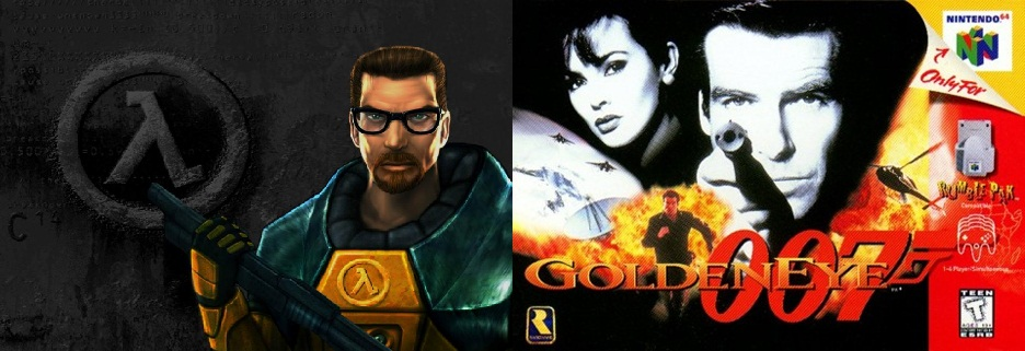 Bargain Bin Golden Eye 007 vs Half-Life