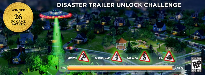 SimCity Disaster Trailer