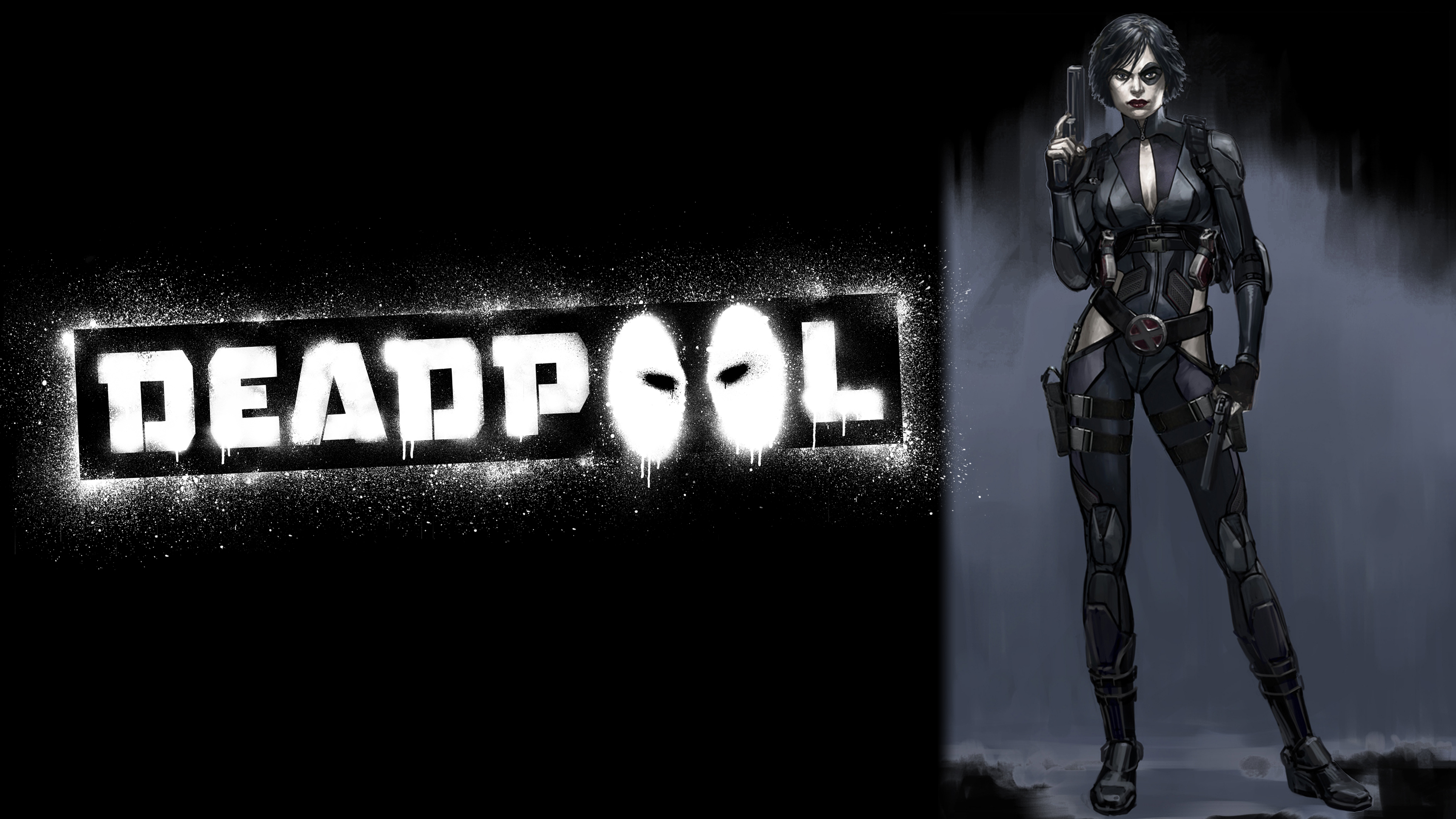 Deadpool Game Domino Concept Art Logo