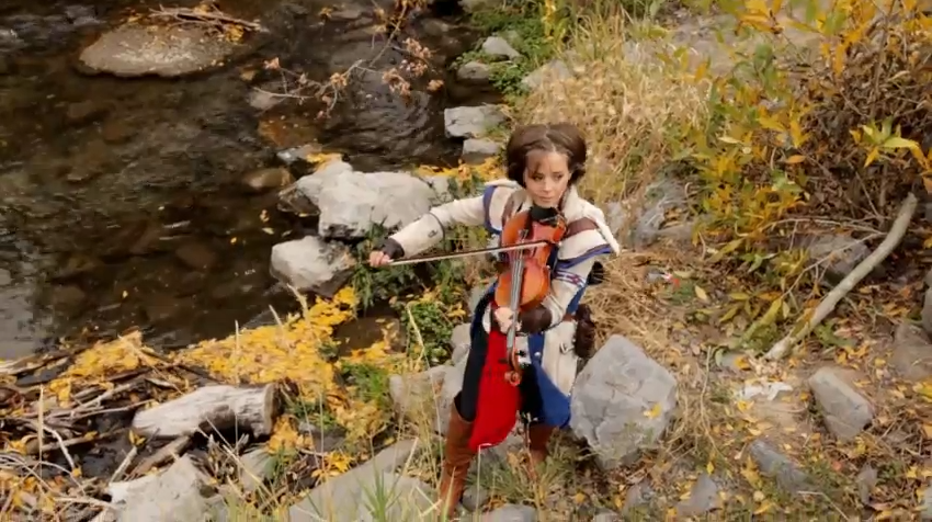 Assassin's Creed III Lindsey Stirling Style