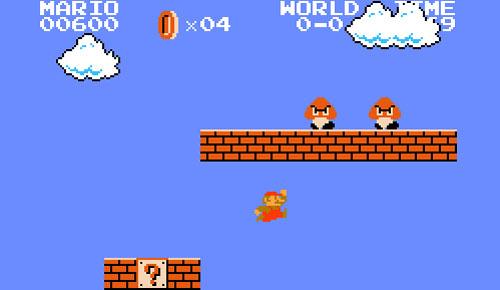 Old Super Mario Bros  Pc 1985