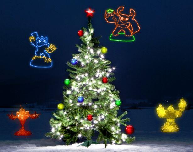 Skylanders Giants Christmas Cards - That VideoGame Blog