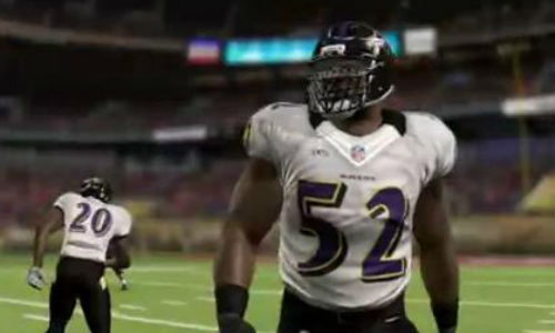 Madden NFL 13 Ray Lewis