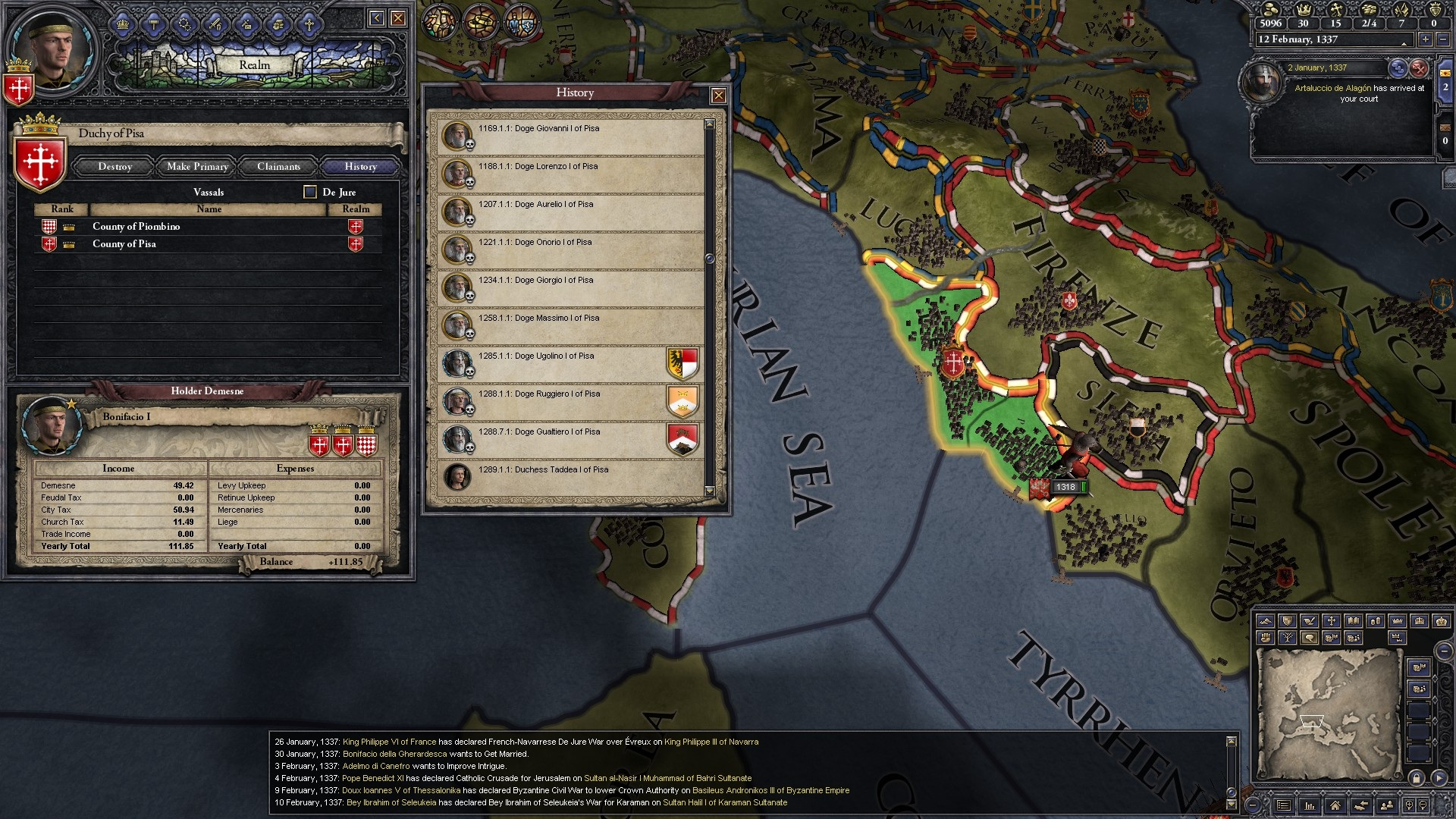 how to build an army crusader kings 2