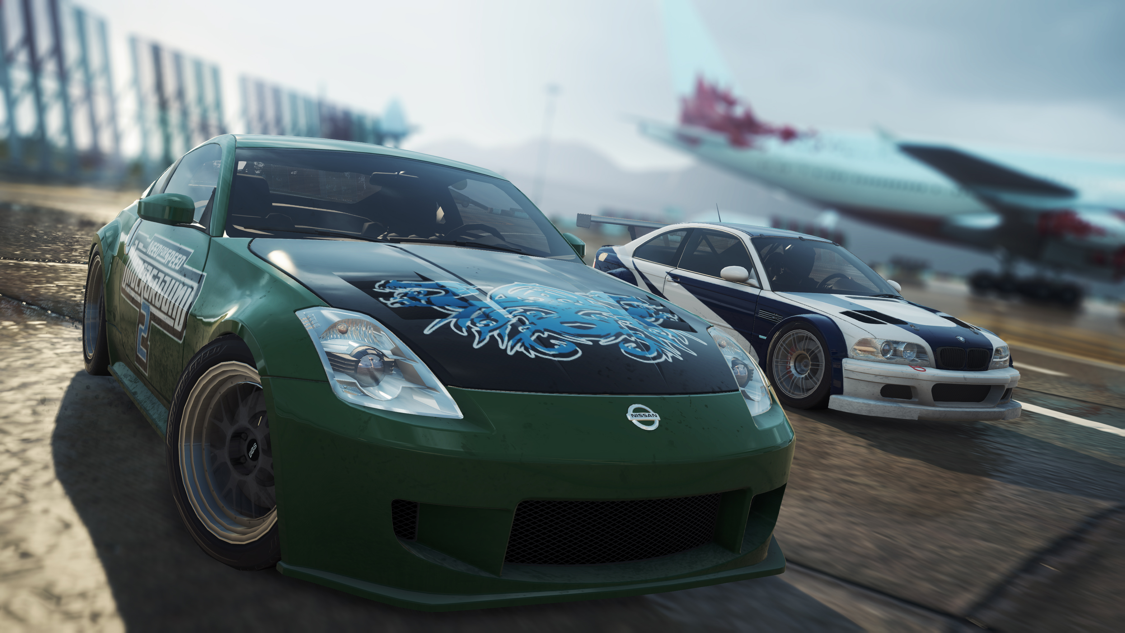 This Nissan didn't look this good in NFS Underground 2, but looks great in the Heroes DLC.
