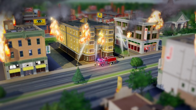 SimCity Firefighters