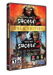 Shogun 2 Gold Edition Box Art