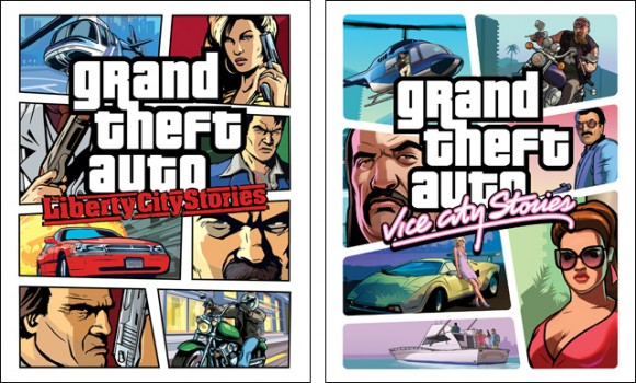 Grand Theft Auto Liberty City and Vice City