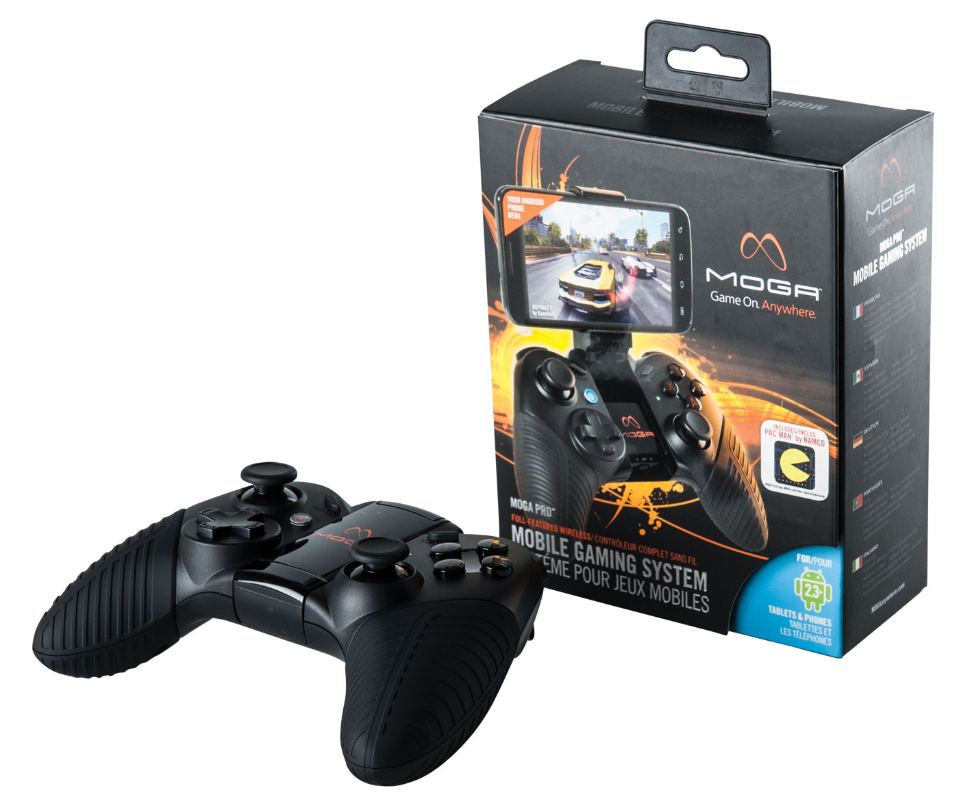 The MOGA Pro Controller allows for a full-console experience with Android devices.