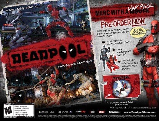Deadpool Pre-Order Bonus