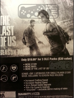 Leaked picture hints at Season Pass content for The Last of Us ...