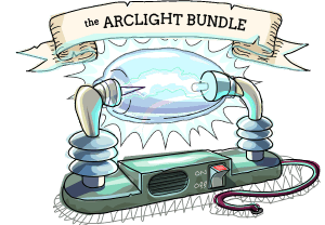 The Arclight Bundle Icon - The Arclight Bundles features five Arcen Games