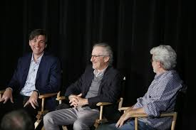 Don Mattrick, Steven Spielberg and George Lucas