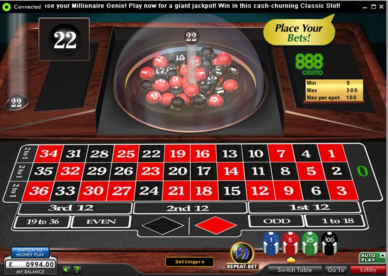 Mr green online roulette