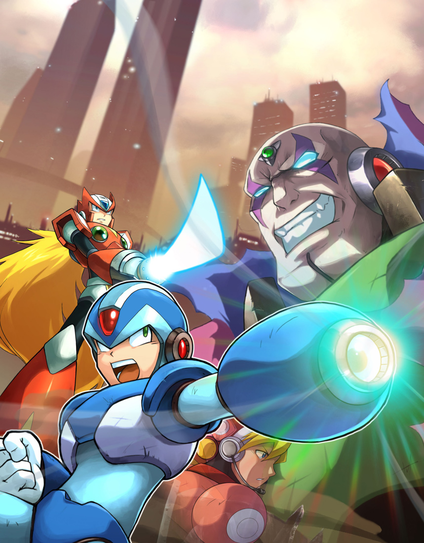 Mega_Man_X_Collection_by_UdonCrew