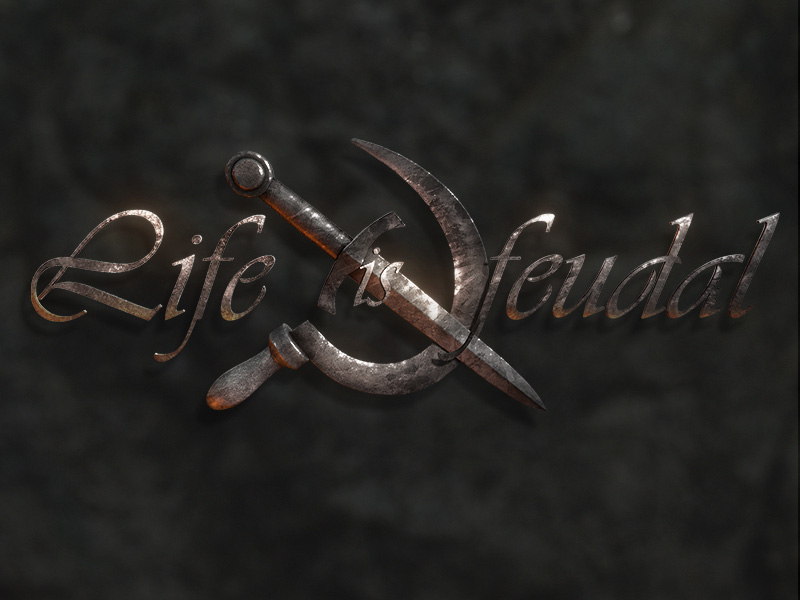 Game Logo - Life Is Feudal