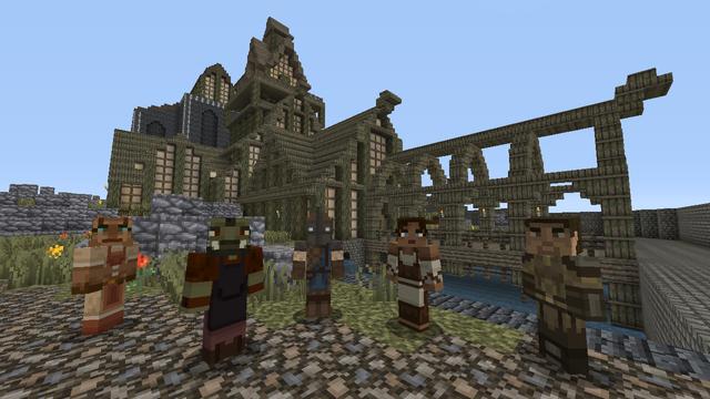 Skyrim Minecraft 3