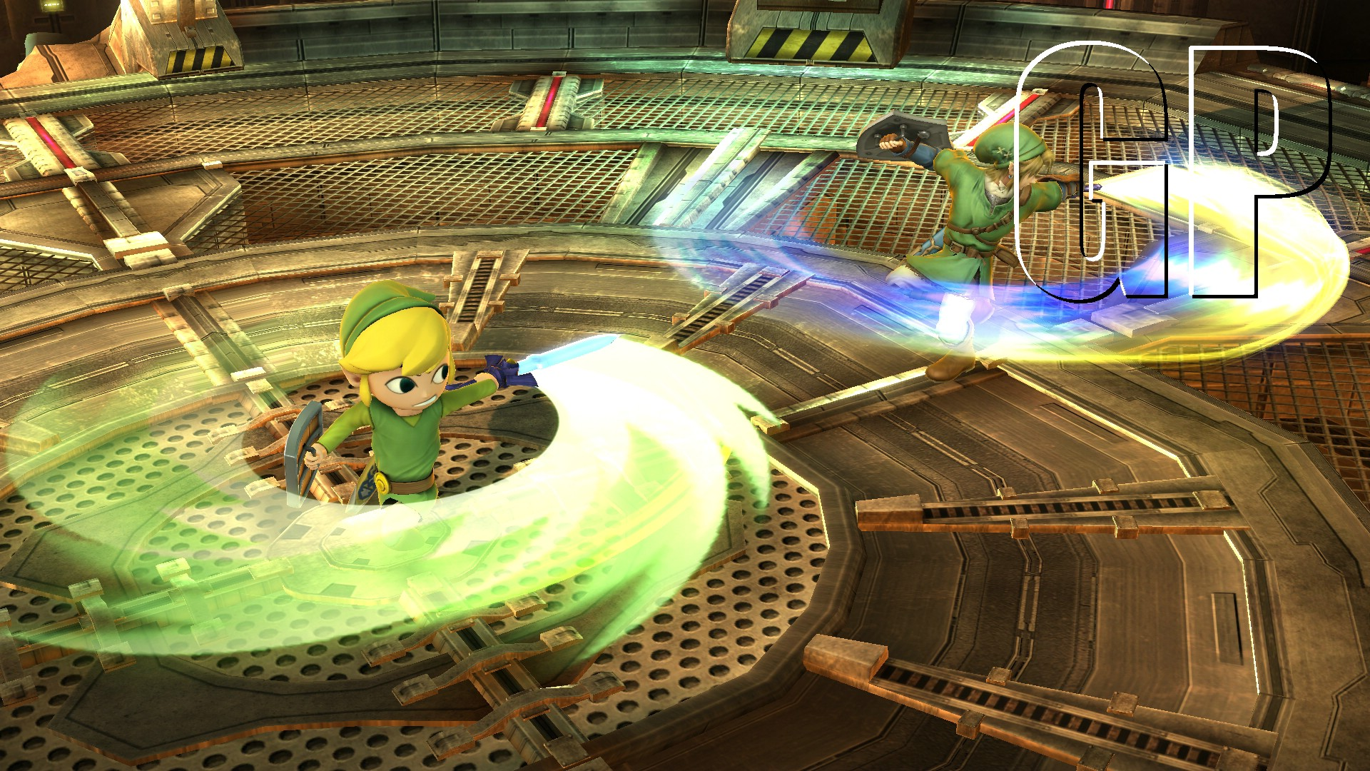 super smash bros. links