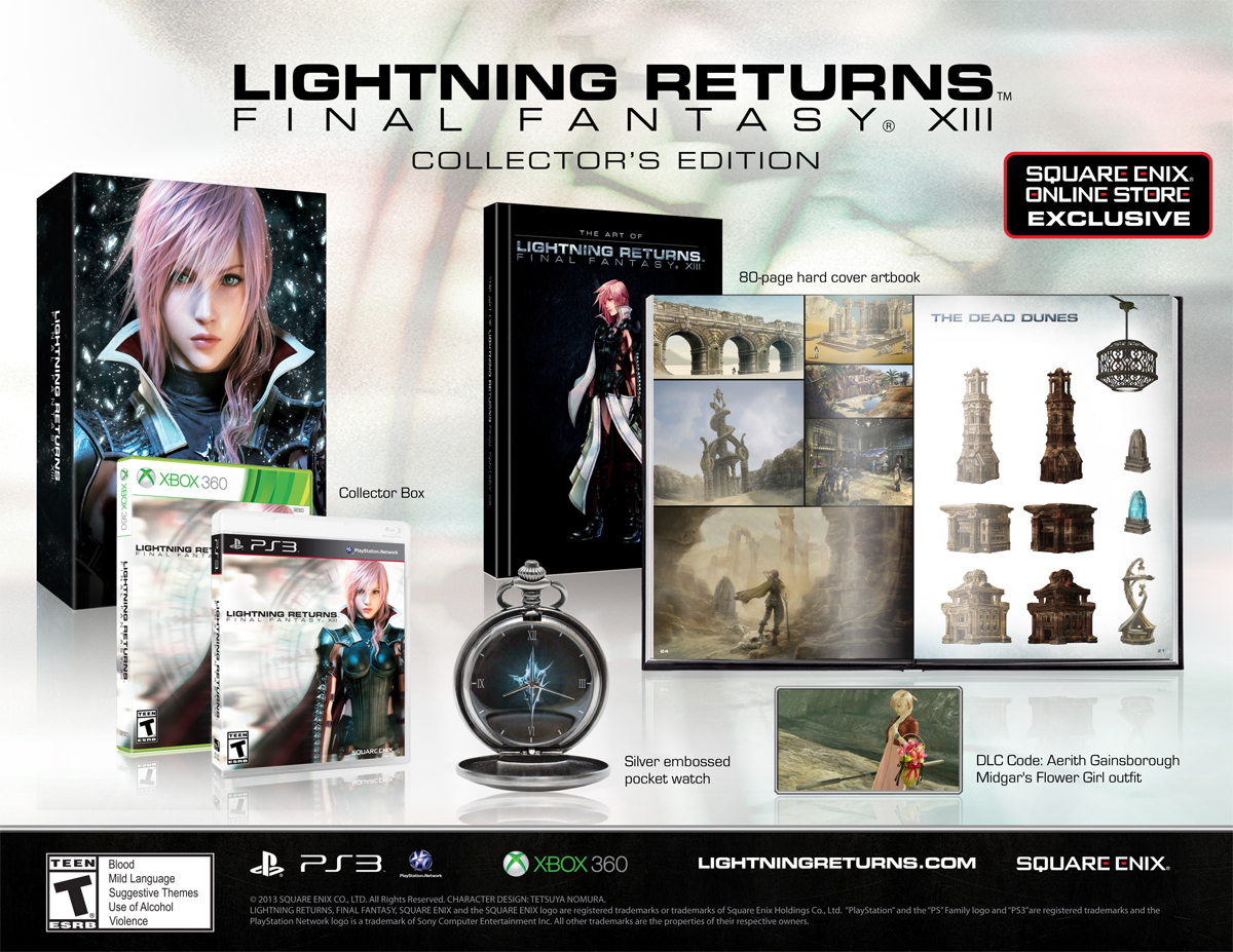 Lightning Returns: FFXIII Collector's Edition