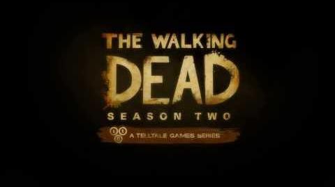 walking dead season two logo