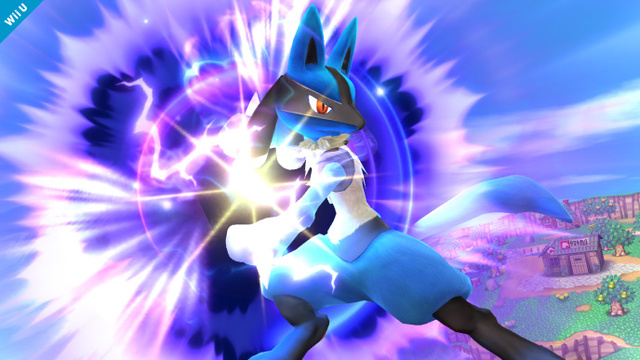 Lucario Smash Bros 2