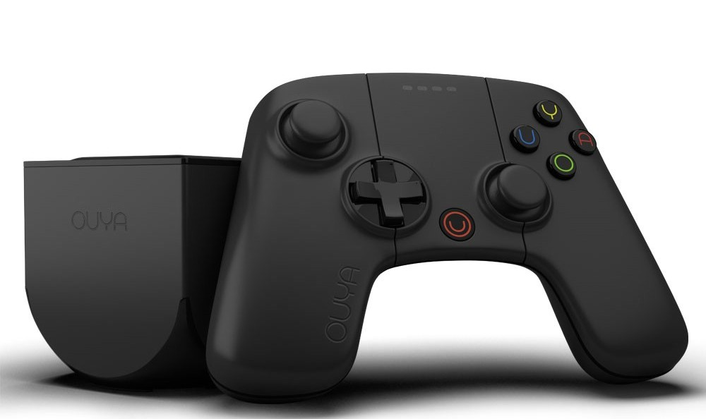 The new OUYA features an black matte finish.