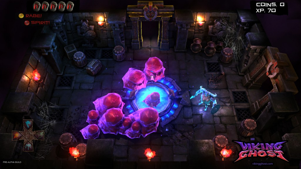 Former Sony developers tease new indie game Viking Ghost