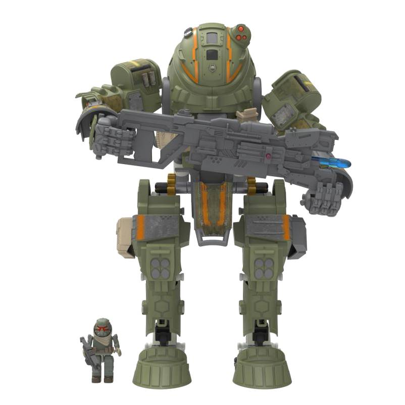 Move over LEGO – K'NEX releasing line of Titanfall building sets