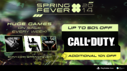 Call of Duty is catching Spring Fever on PSN