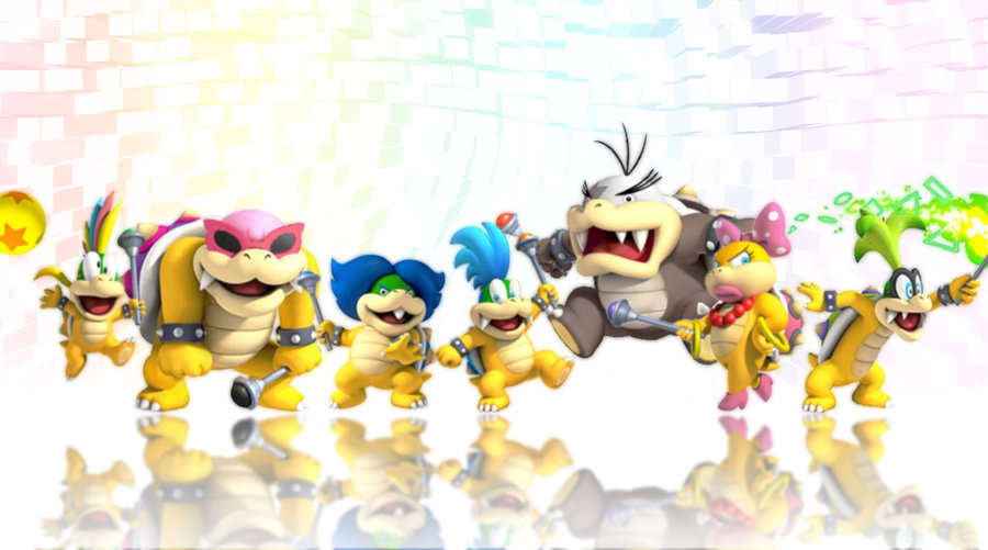 I can't wait to play as these rambunctious Koopas